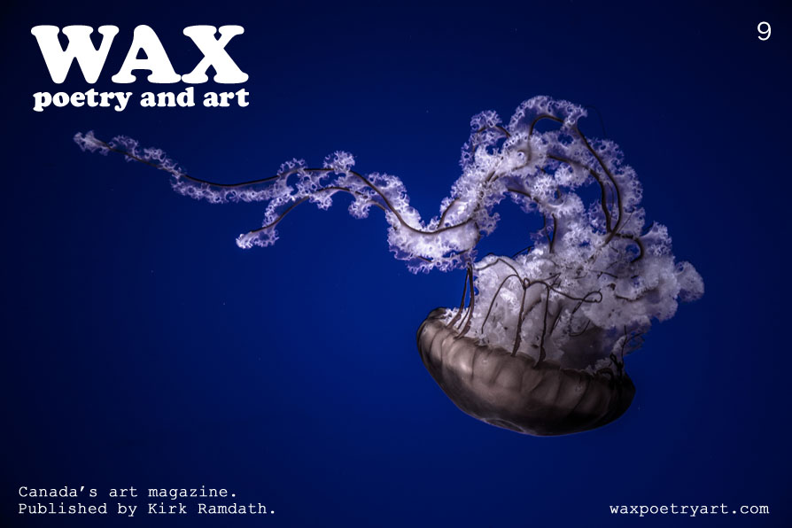 Wax Poetry and Art. Canada's art magazine. Published by Kirk Ramdath. www.waxpoetryart.com.