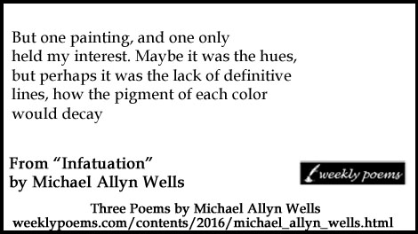 Title Image: Michael Allyn Wells, poetry.