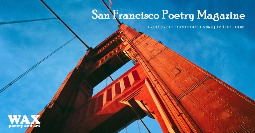 Header image shows Golden Gate Bridge - San Francisco Poetry Magazine - sanfranciscopoetrymagazine.com
