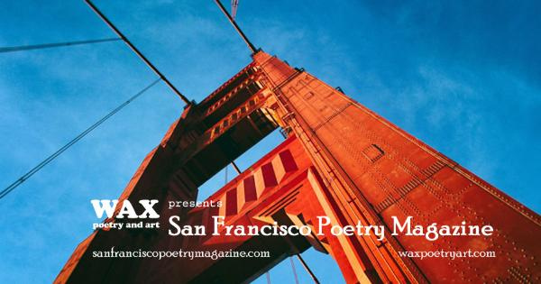 Smaller image for Facebook - Image shows the Golden Gate Bridge - San Francisco Poetry Magazine - sanfranciscopoetrymagazine.com